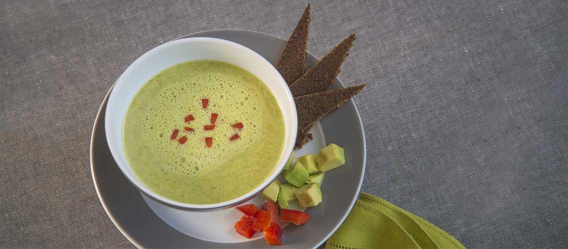 Rohkost Brokkoli Suppe