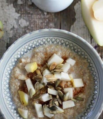 Glutenfreies Porridge aus Quinoa & Amaranth