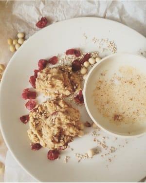 Sesam Cranberry Cookies
