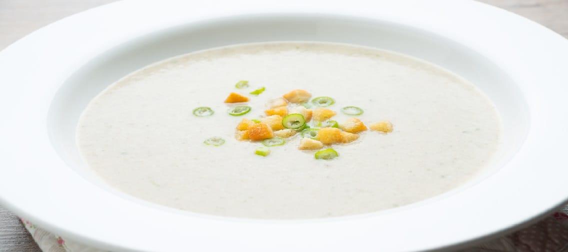 Weisse-Bohnen-Cashew-Cremesuppe
