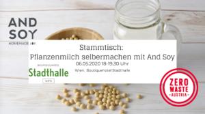 Zero Waste Stammtisch: Pflanzenmilch selbermachen
