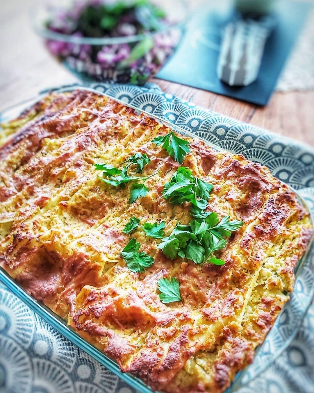 Karfiol Lasagne